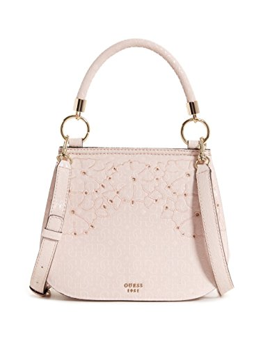 GUESS Jayne Embroidered Foldover - Guess Pink