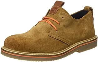 Gioseppo 30128, Zapatos de Cordones Brogue para Niños, Marrón (Cuero), 33 EU