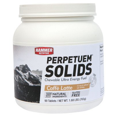 Hammer Nutrition Perpetuem Solids Caffe Latte, One Size