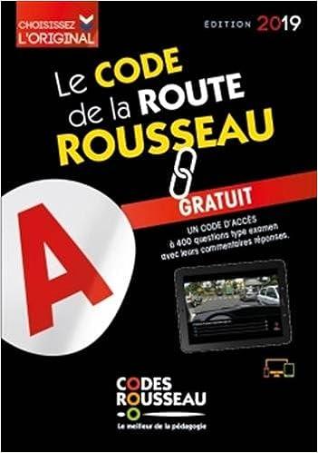 51df4b708c Amazon.fr - Code Rousseau de la route B 2019 - Codes Rousseau - Livres