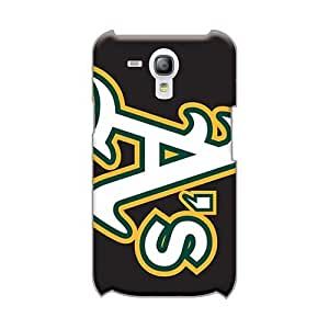 WandaDicks Samsung Galaxy S3 Mini Best Cell-phone Hard Covers Unique Design Stylish Oakland Athletics Pattern [Aul24384guuQ]