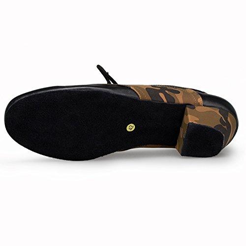 Miyoopark - salón hombre Black/Brown-4.5cm heel