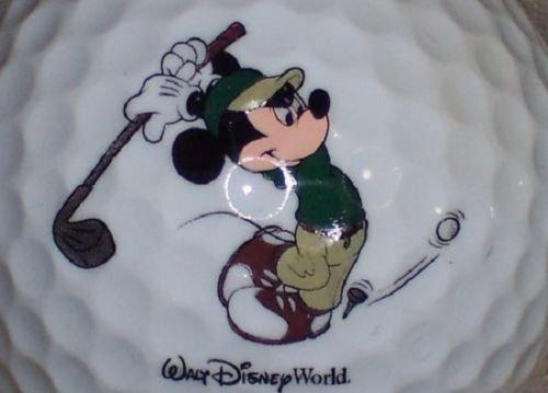 Golf Mouse Mickey - (36) DISNEY MICKEY MOUSE WALT DISNEY LOGO Callaway Mix AAAAA Mint Golf Balls