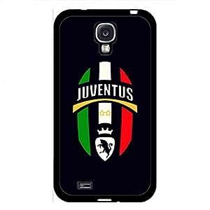 Juventus FC S.P.A Samsung Galaxy S4 Caja del teléfono celular Funda,Serie A FC Juventus Durable Bumper TPU Case,Protect Compact Case for Samsung Galaxy S4