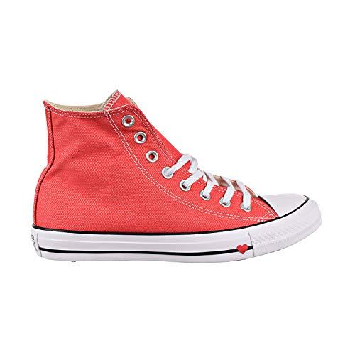 Converse Unisex Chuck Taylor¿ All Star¿ Denim Love Hi Sedona Red/Black/White 6.5 Women / 4.5 Men M US
