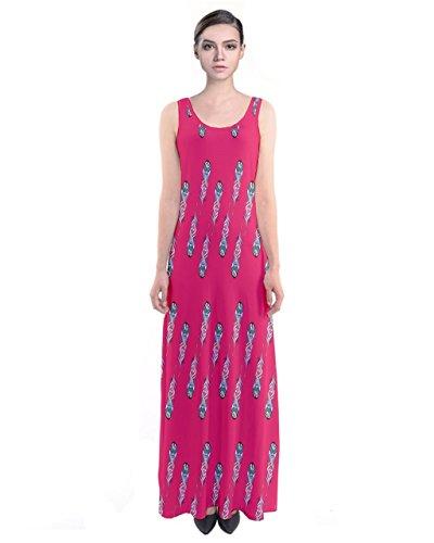 CowCow - Vestido - para mujer Rosso