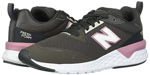 New Balance Women's Fresh Foam 515 Sport V2 Sneaker, Camo Green/Twilight Rose, 5 M US