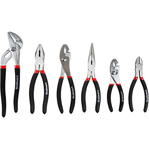 Stalwart 6 PC UTILITY PLIER SET w/STORAGE POUCH by Stalwart