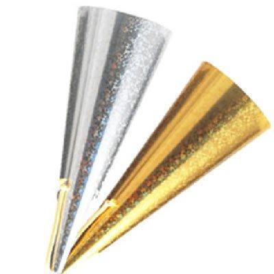 【業務用】ハートフルツインクラッカー テープが飛び出すタイプ 金銀2本セット   B002VTXE5G