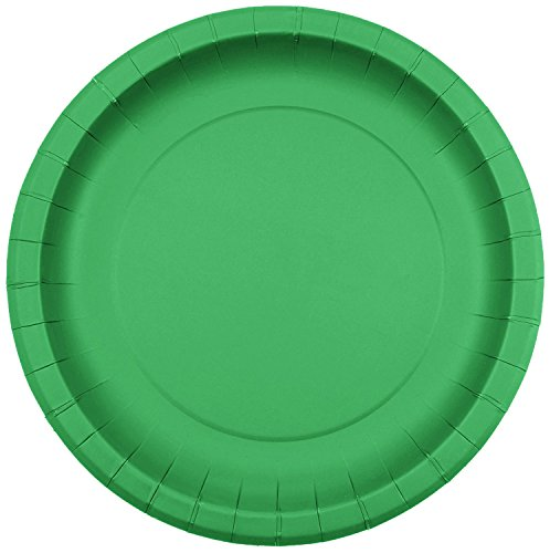 Jubilee 9-inch Paper Plates, 40 Count, Green