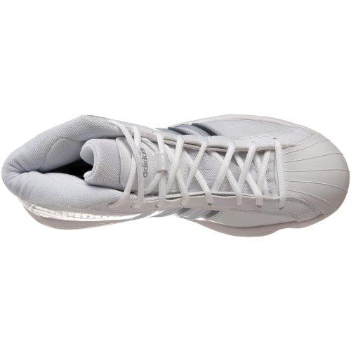 Scarpa Da Basket Adidas Da Donna Pro Modello 2010 In Esecuzione Bianca / Bianca