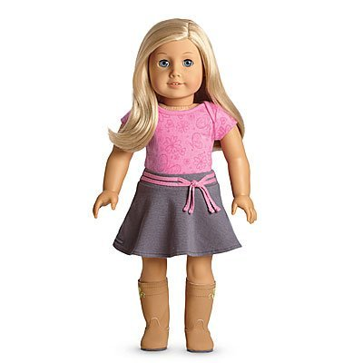 American Girl - My American Girl Doll with Light Skin, Light Blonde Hair and Blue Eyes - E22 (Code Star Doll Girl American)