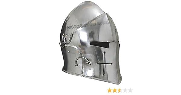 Visored Barbuta Helmet Armour HC66 Props