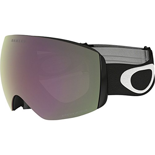 Oakley Flight Deck XM Snow Goggles, Matte Black, Prizm Hi Pink, - Iridium Pink Oakley