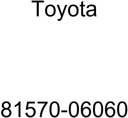Genuine Toyota 81570-06060 Stop Lamp Assembly