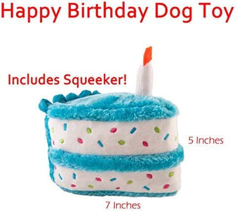 Zippypaws Dog Birthday Toy Squeaky Chew