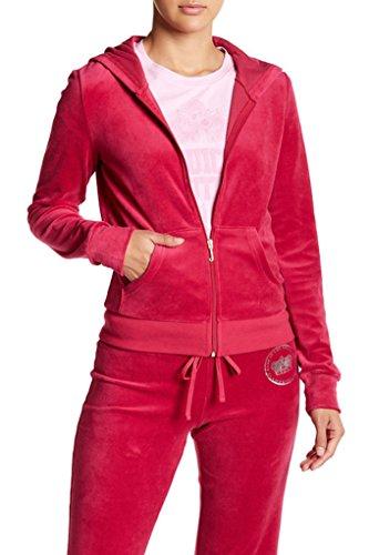 Juicy Couture Certified Juicy Sangria Hoodie Track Jacket S ()