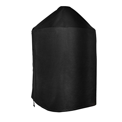 ProHome Direct Premium Grill Cover Fits for Weber Charcoal Kettle Grill 22.5 Inch (Replacement of Weber 7149 Cover),Black ()