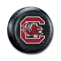 South Carolina Gamecocks NCAA Spare Tire Cover (Black)