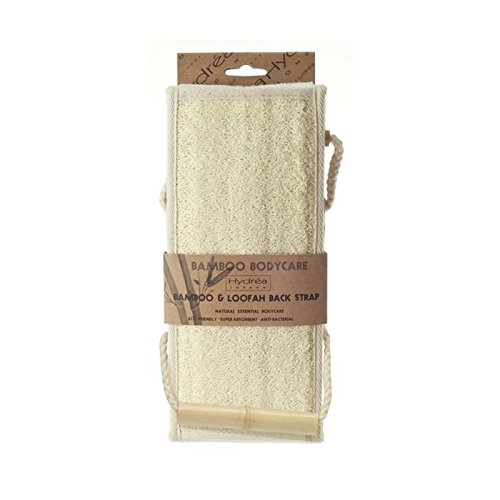 Hydrea London Bamboo & Loofah Exfoliating Back Strap (PACK OF 4) by Hydrea London