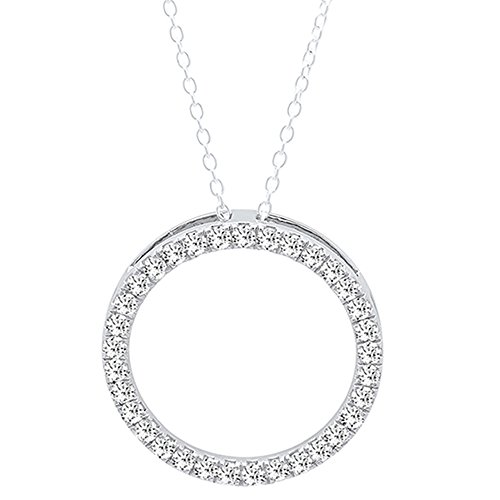 0.75 Ct Diamond Pendant - 6