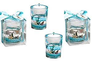 Amazon.com: Stunning Beach-themed Candle Favor (20 ... - photo#20