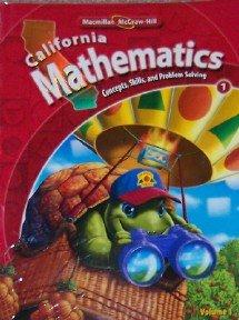 Macmillan McGraw-Hill California Mathematics: Concepts, Skills, and Problem Solving (Vol. 2)