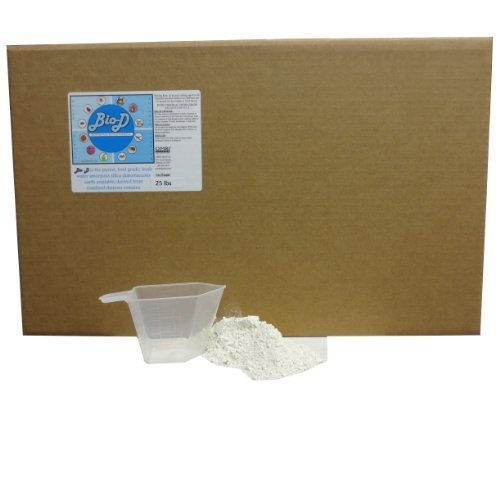 Certified Organic 25 Lb Box (Bio-D Food Grade Diatomaceous Earth (25-Pound Box))