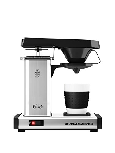 Technivorm Moccamaster 69212 Coffee Brewer, 10 oz, Polished Silver