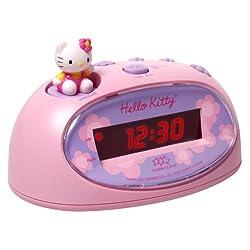 Sanrio Hello Kitty Desktop Digital Alarm Clock KT3005P