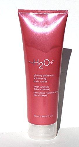 H2O+ Glowing Grapefruit Shimmering Body Souffle 8 oz by Carolina Herrera