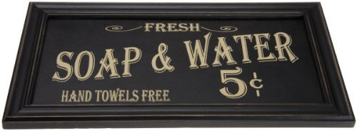 Ohio Wholesale Vintage Bath Advertising Wall Art, from our Americana Collection, from our Americana Collection by Ohio Wholesale