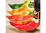 Clay Art Chili Dip Bowls, Set of 4