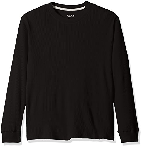 French Toast Toddler Boys' Thermal Tee Shirt, Black, 3T (Thermal Clothes For Toddler compare prices)