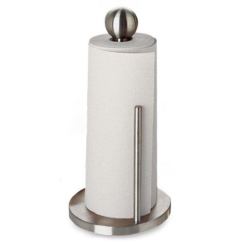 Travel Paper Towel Holder: Amco Paper Towel Holder, Brushed Stainless Steel