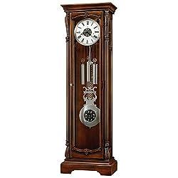 Wellington Hampton Inner Light 80.75H Grandfather Clock Hampton Cherry Dimensions: 24.75W X 14.75D X 80.75H Weight: 149 Lbs