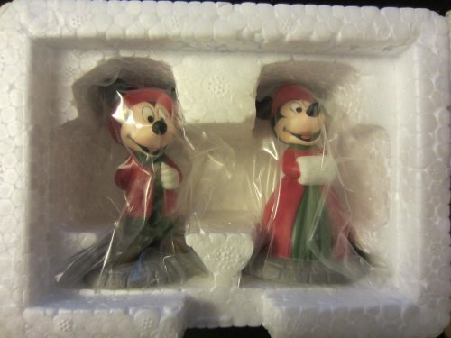 Dept. 56 Disney Parks Heritage Village Series - 5353-8 Mickey and Minnie Mouse by Department 56