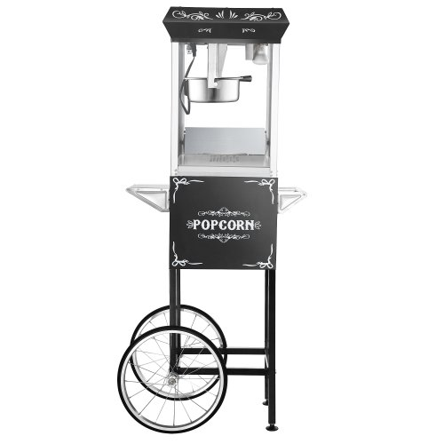 Great Northern Popcorn Black 8 oz. Ounce Foundation Vintage Style Popcorn Machine and Cart by Great Northern Popcorn Company (Image #8)