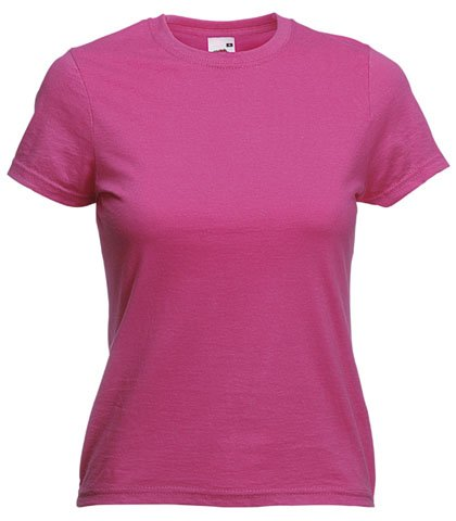 Fruit of the Loom - Camiseta - para mujer XS