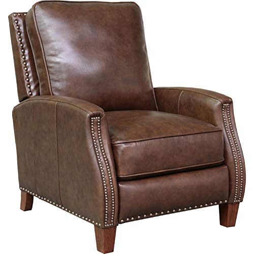 - Barcalounger Melrose Recliner in Wenlock Double Chocolate Leather