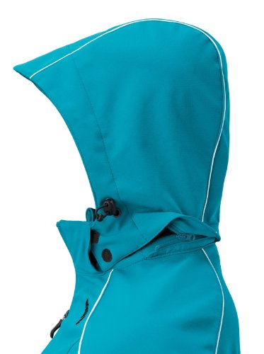 ERIMA Children / Gentlemen Softshell Jacke Style petrol/schwarz, options Size: S, Men