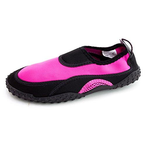 Femmes Plage Extérieure Piscine Crique Aqua Eau Chaussures (adultes) Fuchsia