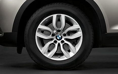 Original BMW X3 F25 Invierno Completo juego de ruedas y de radios 305 17 tapicería