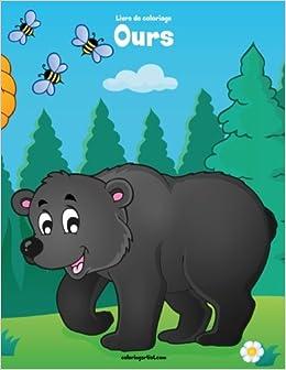Livre De Coloriage Ours 1 Amazon Fr Snels Nick Livres