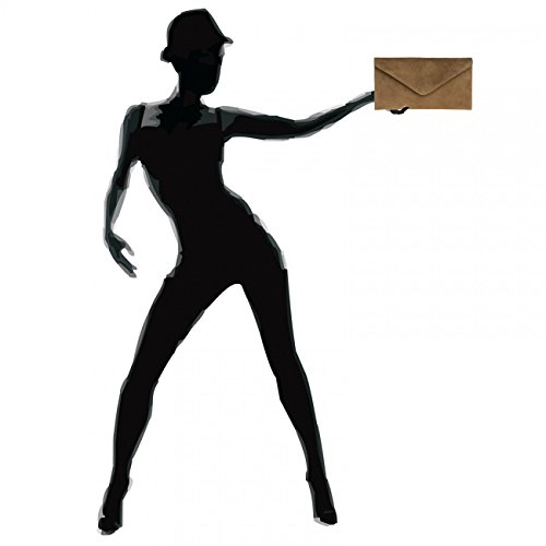 CASPAR Caqui Envelope TL708 Women Clutch qv0wHYv