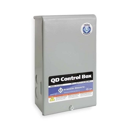 Little Giant 2801084915, CB-1-230-60-Q 1 hp 3-Wire Quick Disconnect Submersible Motor Control Box, 230V, Pack of 3 pcs