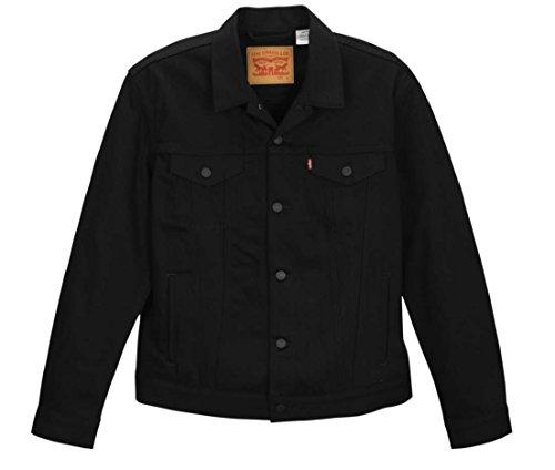 Levi's Relaxed Trucker Jacket - Polished Black, Large