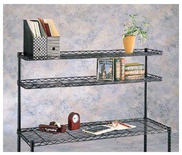 InterMETRO 8-Inch by 36-Inch Ledge Shelf