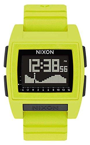 Nixon Base Tide Pro Watch - Lime