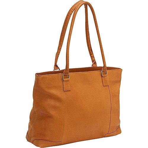 Le Donne Leather Women's Laptop/Handbag Brief - Tan by Le Donne Leather